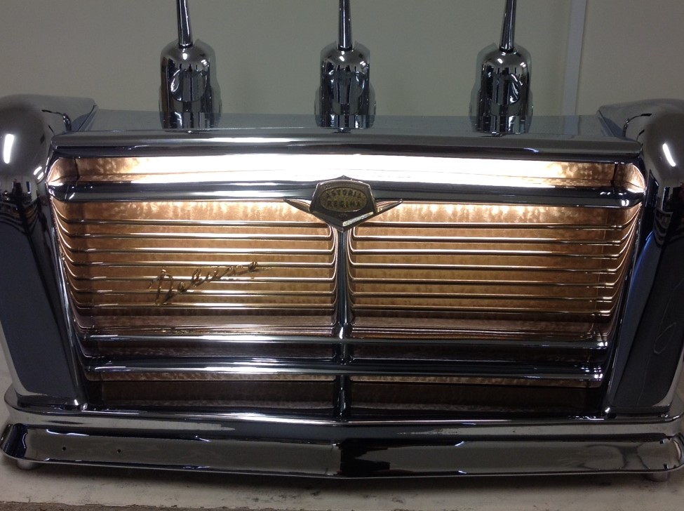 Restoration of 1957 coffee machine